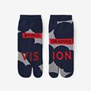【足袋】足袋下(踝丈)/KYOTOGRAPHIE 2020 正紺