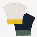 【着衣】たばた絞り 袖なしジバン