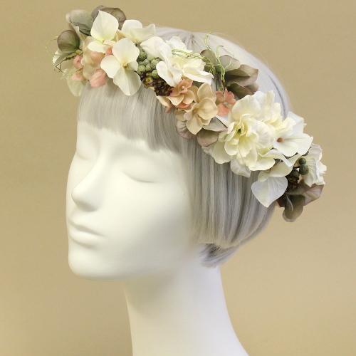 アーティフィシャルフラワー(造花)の花冠商品画像_airaka
