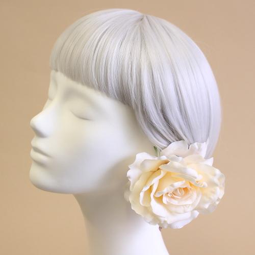 アーティフィシャルフラワー(造花)の髪飾り商品画像_airaka