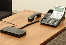 固定電話機接続イメージ