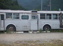 無料宿(バス)