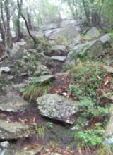 急な登り坂
