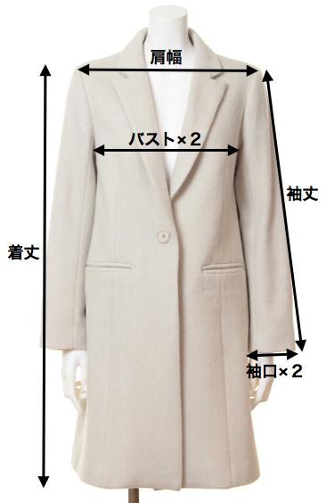 アイテム別サイズ見本-coat