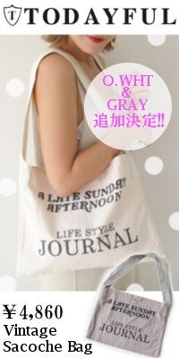 TODAYFUL(トゥデイフル) Vintage Sacoche Bag