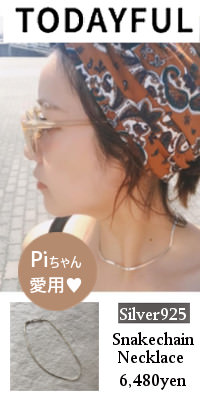 TODAYFUL(トゥデイフル) Silver925 Snakechain Necklace