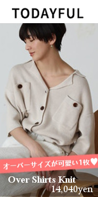 TODAYFUL(トゥデイフル) Over Shirts Knit