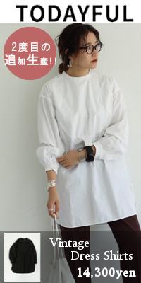 TODAYFUL (トゥデイフル) Vintage Dress Shirts