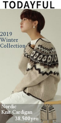 TODAYFUL (トゥデイフル)Nordic Knit Cardigan