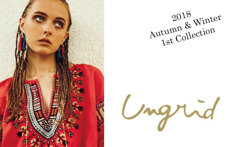 アングリッド Ungrid 2018 Autumn / Winter 新入荷