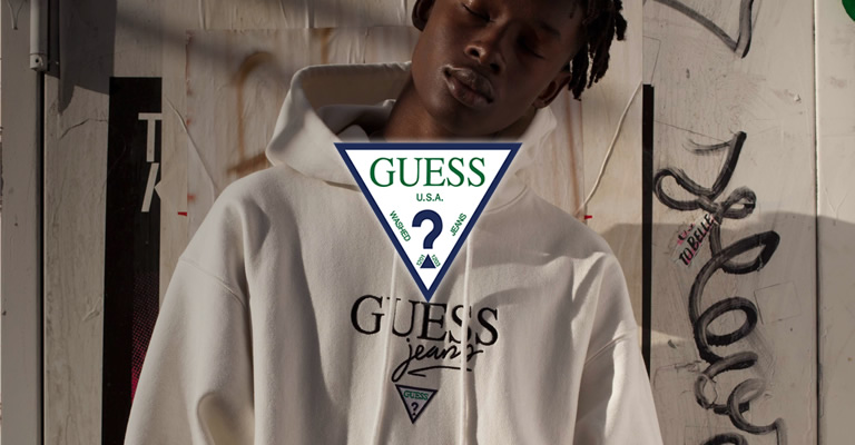 guess green lavel 2017aw