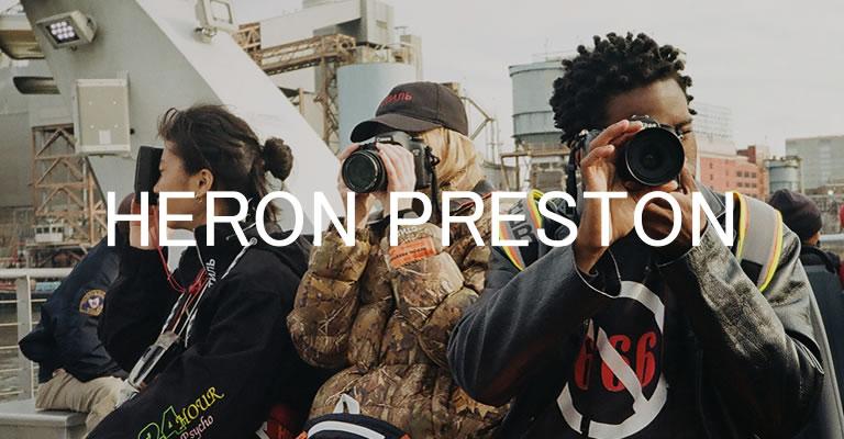 HERON PRESTON 2018AW