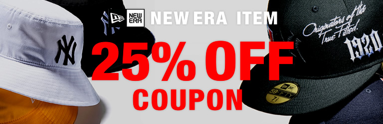 NEW ERA 25%OFF