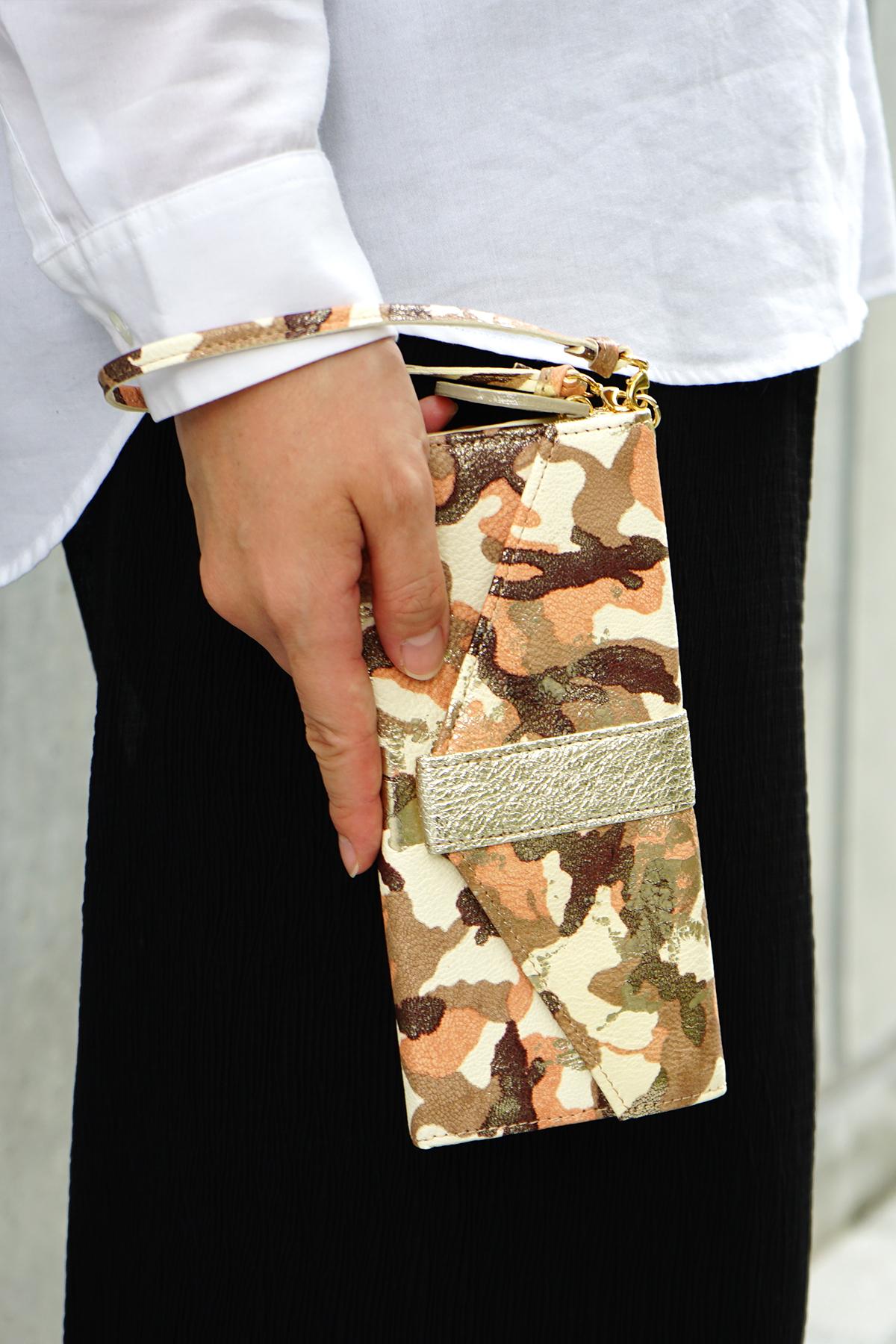 ギャルソン長財布<アーミー>のモデル画像1