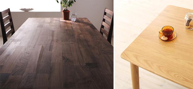 テーブル天板(無垢材)