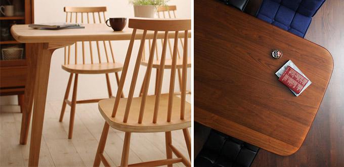 テーブル天板(天然木)