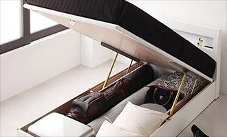 ガス圧跳ね上げ式ベッド1