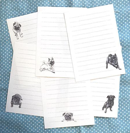 2018年版スケッチPugメモ用紙
