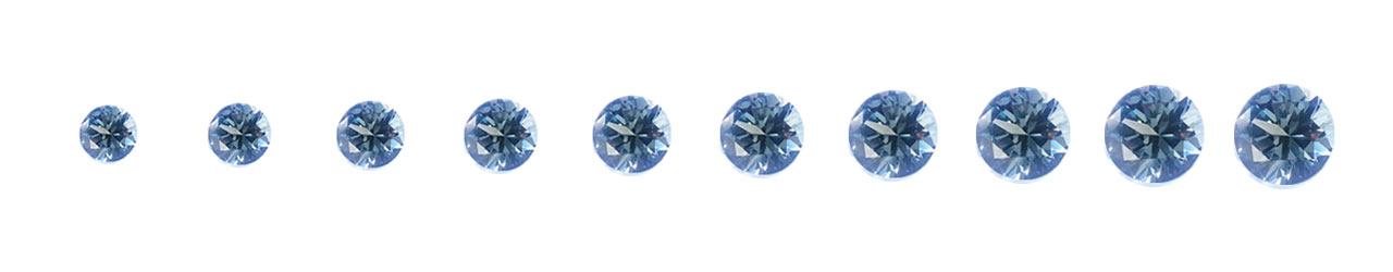 ダイヤモンドサイズについて