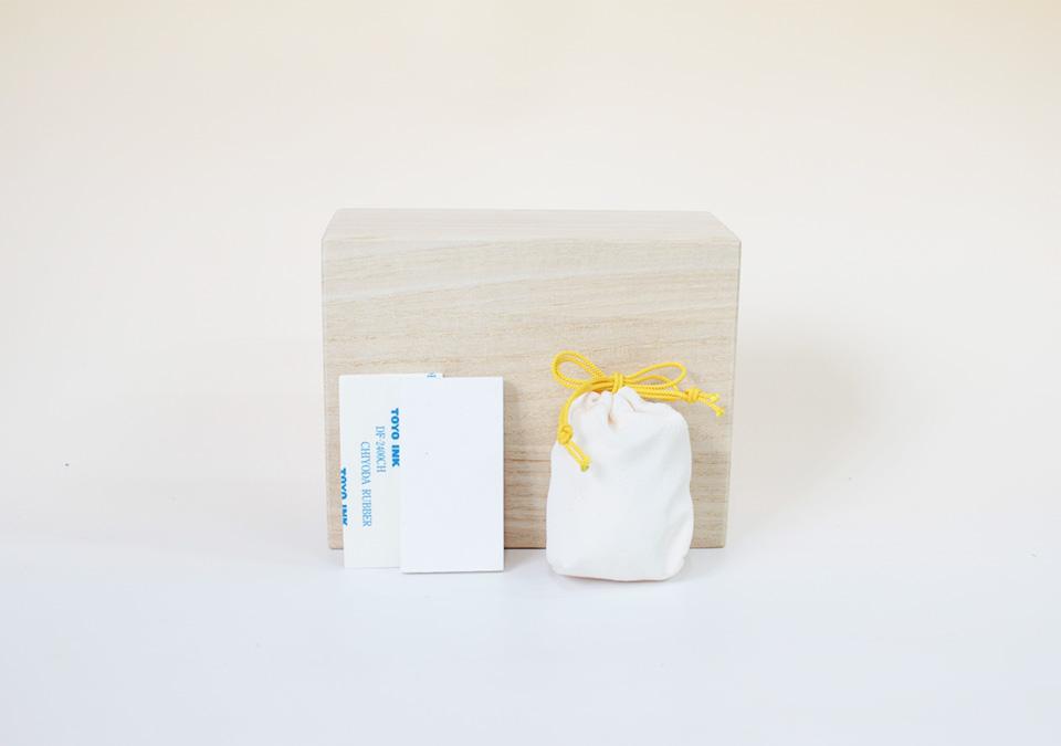 手元供養の礎のセット内容桐箱