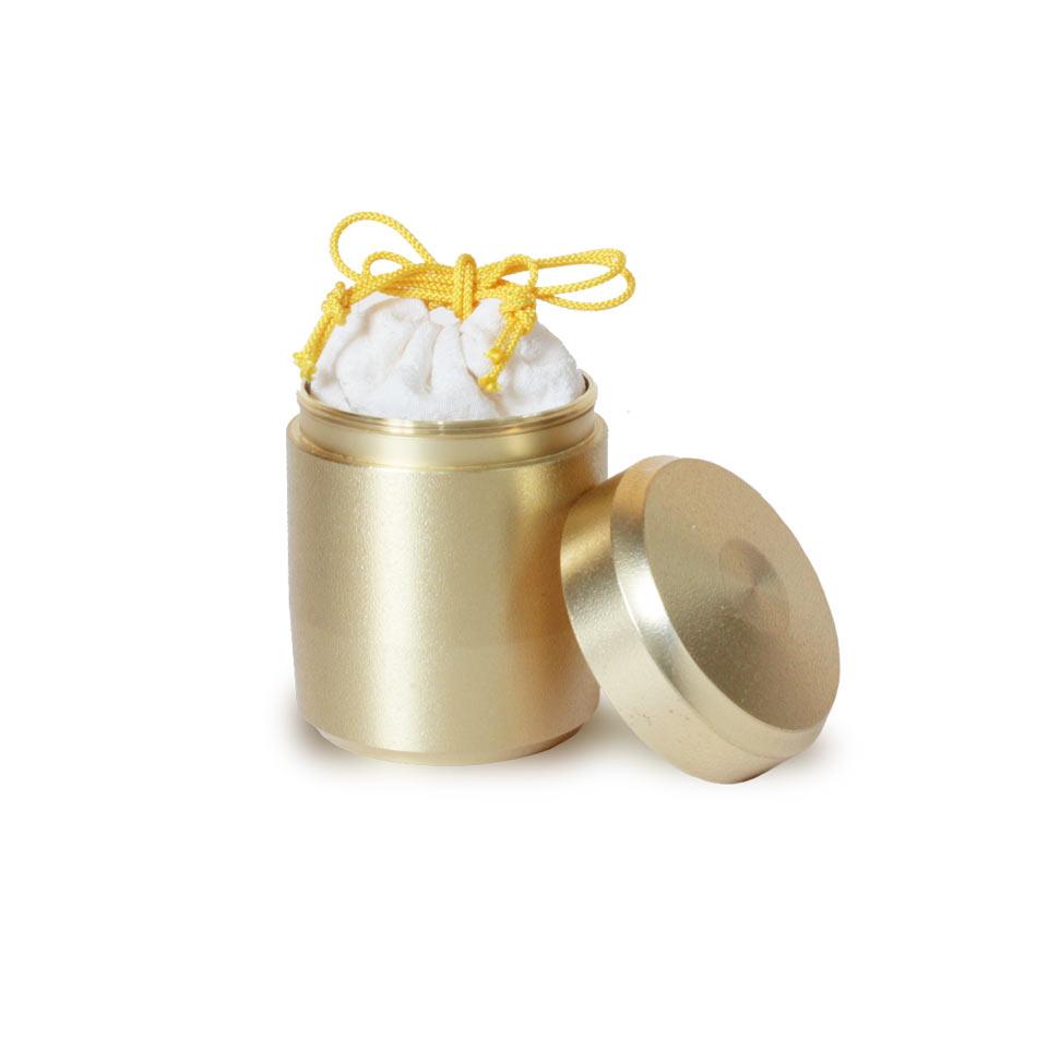 ミニ骨壷なごみの金
