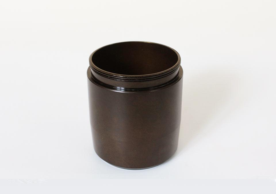 手元供養ミニ骨壷なごみのフタを開けた画像
