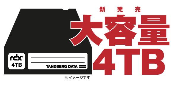 RDX 3TB 新発売