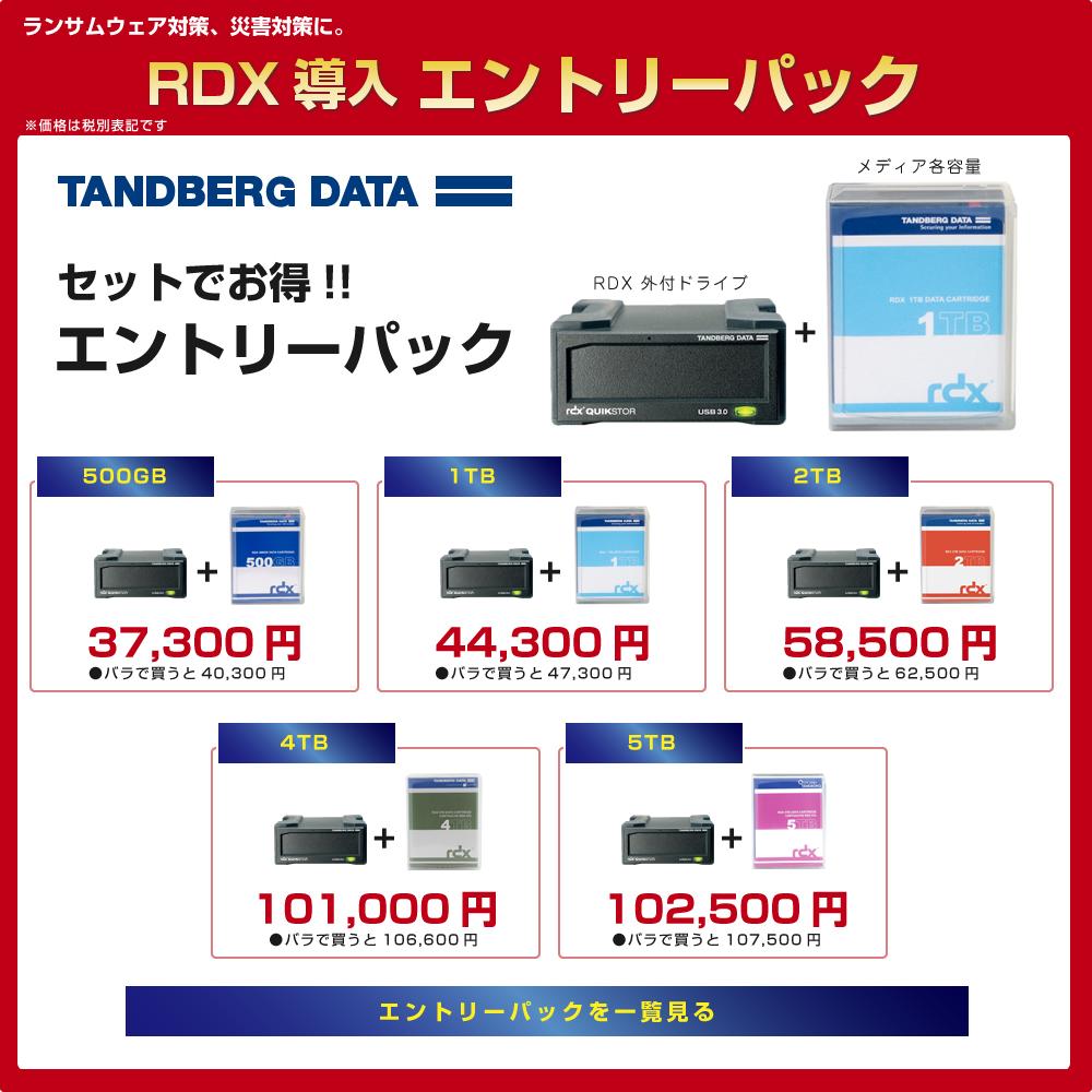 RDX導入 エントリーパック