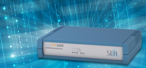 「myUTN-2500」でRDXドライブをネットワーク接続