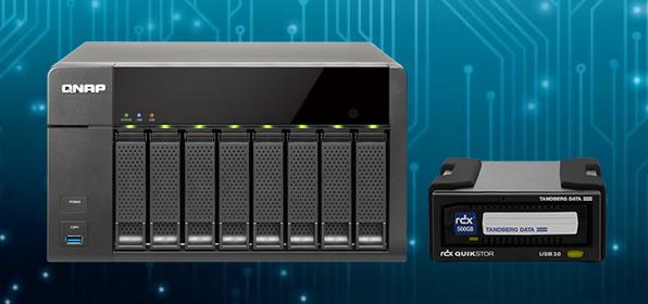 <QNAP>NASのデータを外付RDXにバックアップを行うメリットと方法