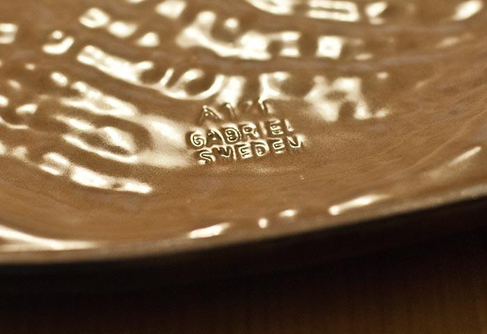 GABRIEL(ガブリエル釜)/陶器の壁飾り(鳥)/スウェーデン 03