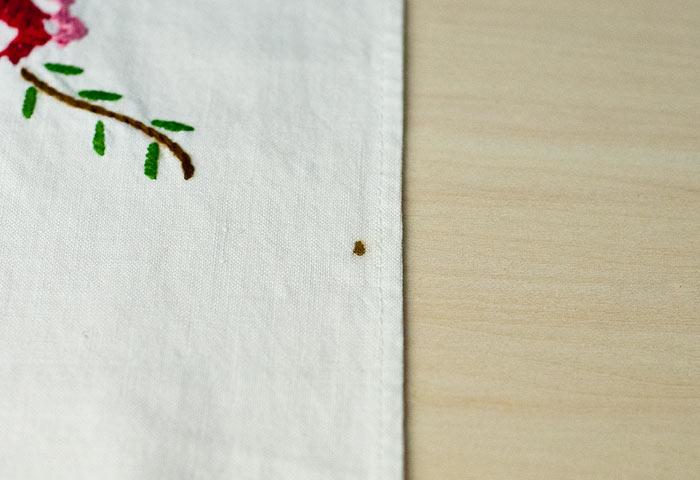 北欧で使われていた、刺繍のキッチンタオル/ビンテージ