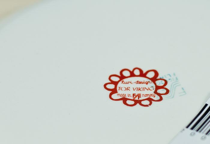 FIGGJO(フィッギオ)/TOR VIKINGーデザートプレート/ノルウェー/ビンテージ/T0180