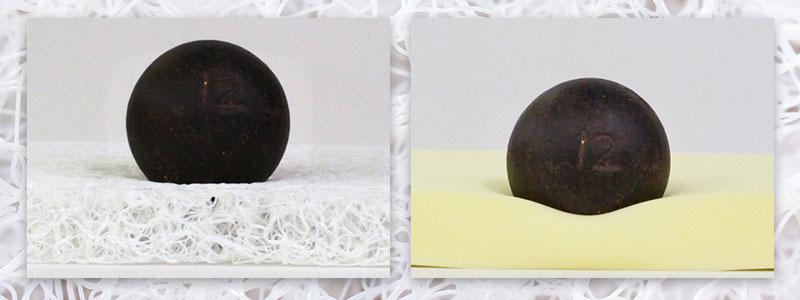鉄球オン高反発素材
