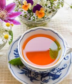 緑茶、紅茶に混ぜても