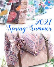 エンベロープトートバッグ 封筒バッグ エクリュ リバティ2021春夏コレクション