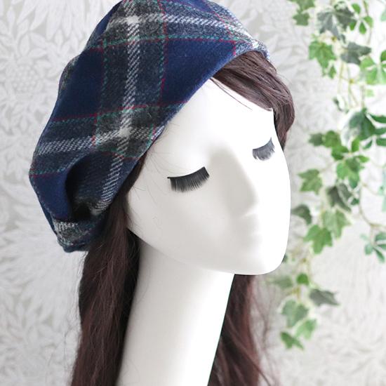 神戸タータンハリスツイード ベレー帽、ル・レーヴバッグお花付き2wayバッグ、トート・ショルダーバッグ:ユリ、お花付きまん丸バッグ+ポーチ、巾着トートバッグ