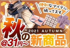 2021年秋の新商品