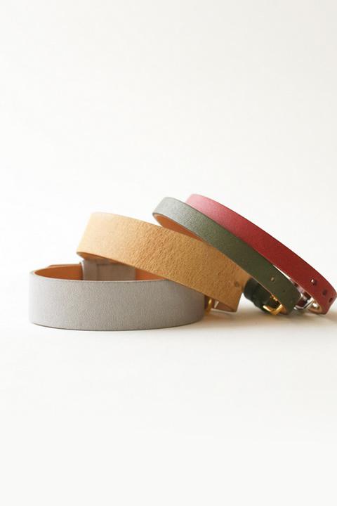 革ベルト 30色以上のからバリエーションを取り揃えた、シンプルな腕時計用ベルト