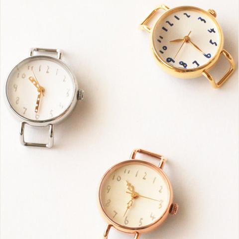レディースサイズ ハンドメイド腕時計のクルチュアン