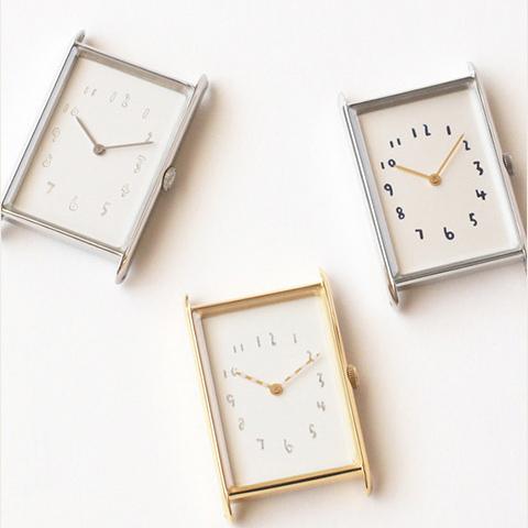 スクエアタイプ  ハンドメイド腕時計のクルチュアン