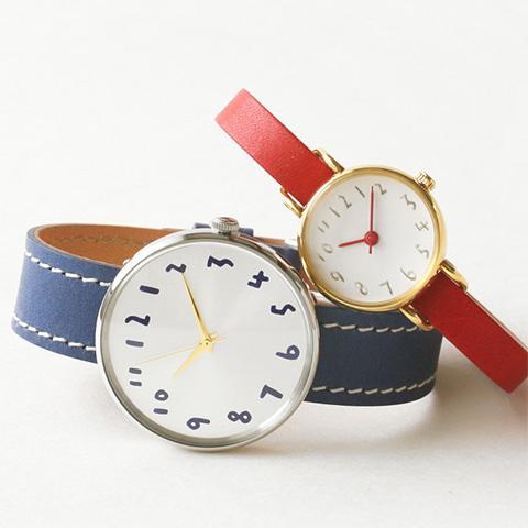 クルチュアン|カラフルでシンプルな手作り腕時計