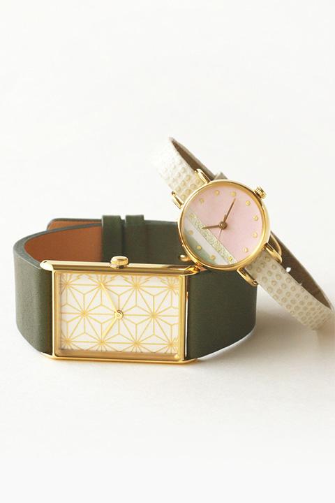 はなもっこ|和の色彩を楽しむ手作り腕時計