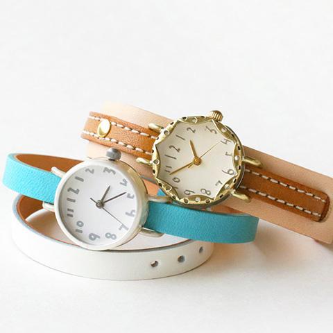 クラシック|手作りのぬくもりあふれる腕時計