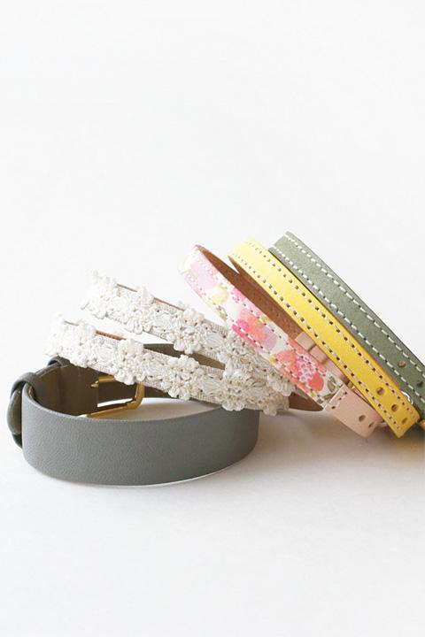 ベルト単品|多くのバリエーションと色彩を取り揃えた替えベルト