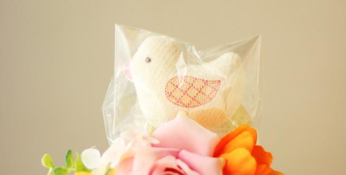 おむつケーキジョアン/2段・ピンク1