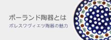 ポーランド陶器とは〜ボレスワヴィエツ陶器の魅力〜