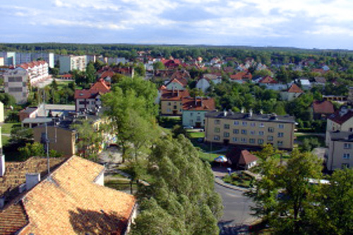 ボレスワヴィエツの町