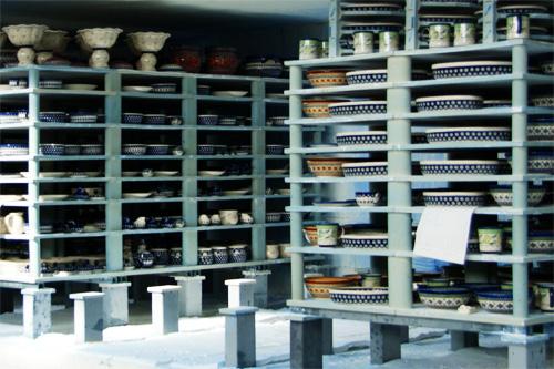 ポーランド陶器の製造工程