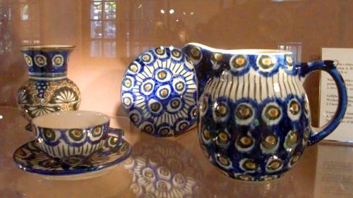 古いボレスワヴィエツ陶器